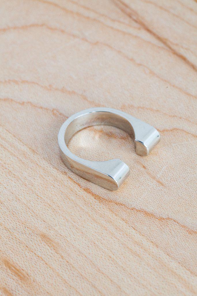 Quarry Mood Horizontal Ring | Oroboro Store
