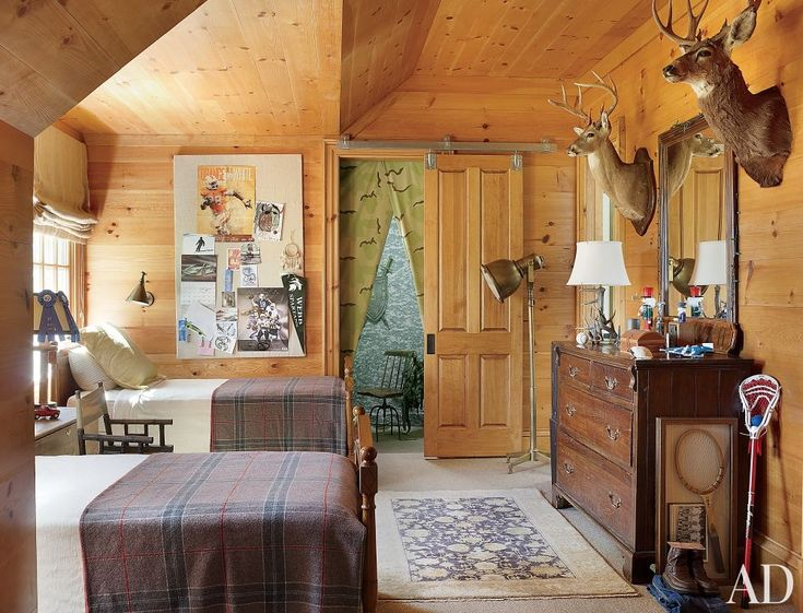 Rustic children 39 s room by suzanne kasler interiors and for Rustic kids room