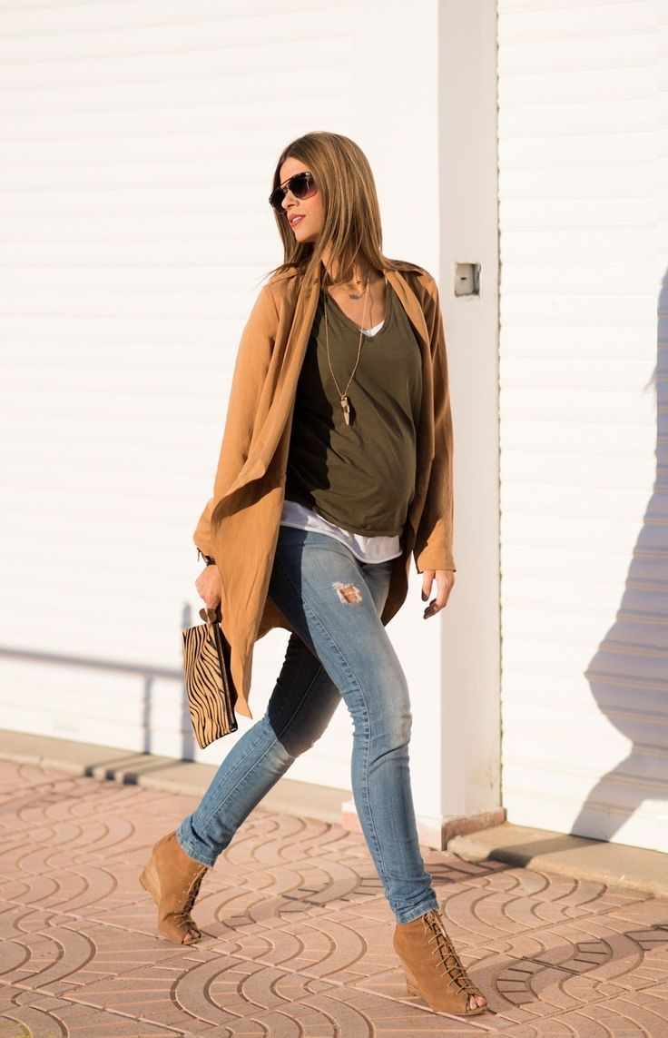 pregnancy | maternuty outfits | Ms Treinta - Blog de moda y tendencias by Alba. - Fashion Blogger -: SOFT TRENCH