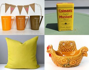 ..Spicy Mustard...!! by lindesigns on Etsy--Pinned+with+TreasuryPin.com