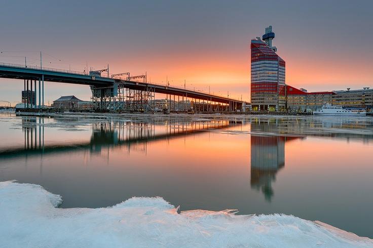 The Göta River, Gothenburg.