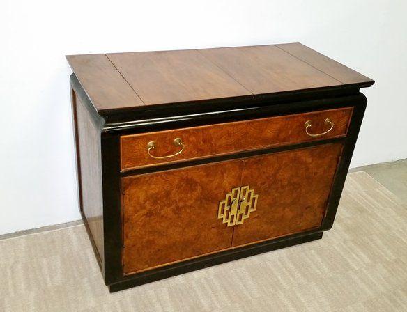 MCM Century Furniture Asian Bar Cart —