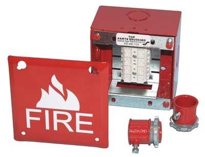 Fresh Fire Alarm Terminal Cabinet