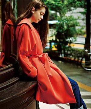 さらっと垢抜けアイテム☆秋冬のファッションアイテム おしゃれガウンコート コーデを集めました♪