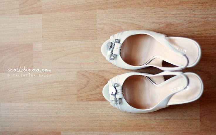 Bride's shoes Photo © Valentina Mazza - www.scattidigioia.com