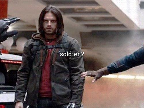 Bucky Barnes / The Winter Soldier / Captain America / Marvel / Stucky / James Barne / Winterxbucky