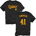 Smokin 41 Jersey Tee  $10.95 #dickeys #bbq #shop #clothes #apparel