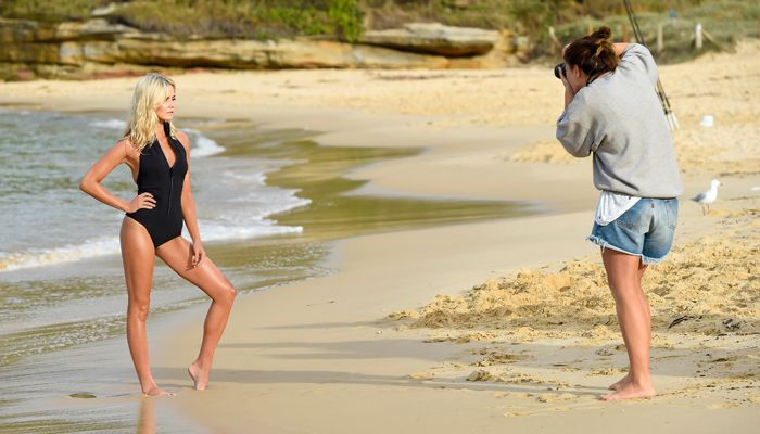 Behind the Scenes: Anna Bamford for ModelCo   ModelCo