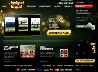 Jacjpot Grand Casino $15 No Deposit Bonus