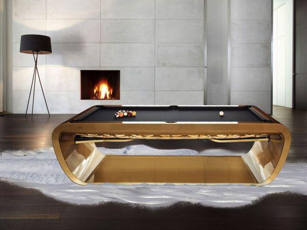 Snooker-Modern-in-a-luxury-room.#interiordesign #luxuryfurniture. For More News: www.bocadolobo.com/blog