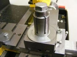 novel quick change tool post for small lathes