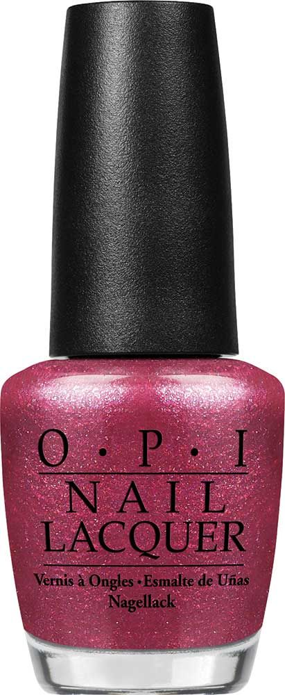 OPI And this Little Piggy… Nail Lacquer | Went everywhere in this glam glittery pink! | Shimmer