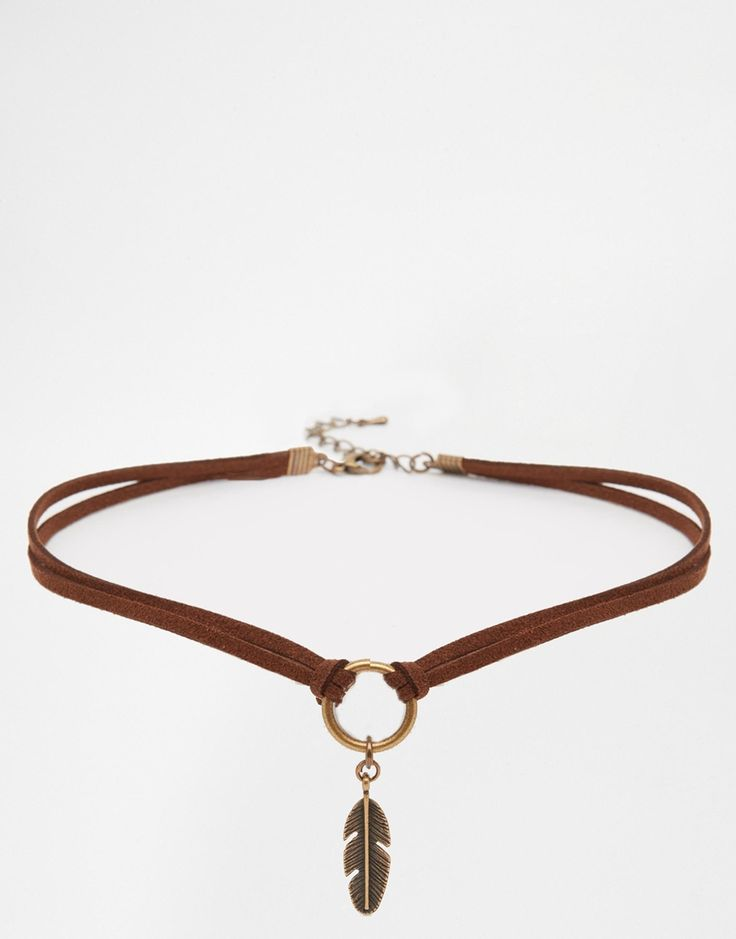 Limited Edition Feather Choker Necklace