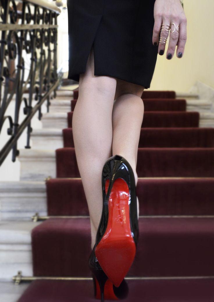 #louboutin #shoes #red #jewelry, #gold, #sparkling, #lady, #earrings, #pearl, #necklace, #kritsimisjewellery, #kritsimis, kritsimis.gr, seekforgold.com