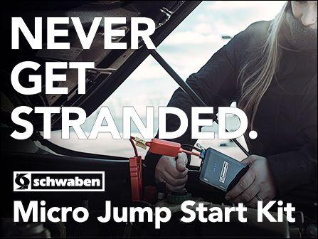BMW F82 M4 S55 3.0L ECS News Schwaben Micro Jump Start Kit