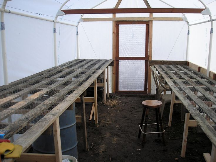 Carport Tube Frame Greenhouse Built by Jerry and Wendy This was a standard 10'X20' Costco carport that had lost it's cover. We purchased it for $50. They seem to be flimsy, and maybe that's what ca…
