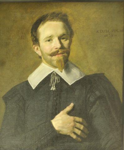 Man with hand on heart - Frans Hals, 1632. Musée des Beaux Arts, Bordeaux, France