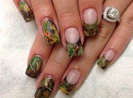 Hunting Camo Nails by AndreaLosee