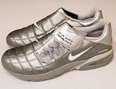 9f07a857684f9 Nike 2003 Air Max Total 365 Football Trainers Chrome Grey Vintage New in  Box Men s UK 8.5 EUR 43  Amazon.co.uk  Shoes   Bags