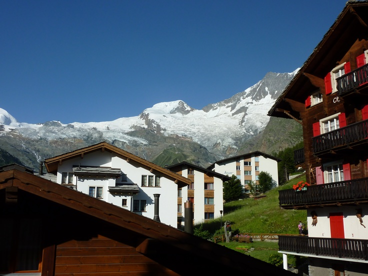 Alps Saas Fee and chalet