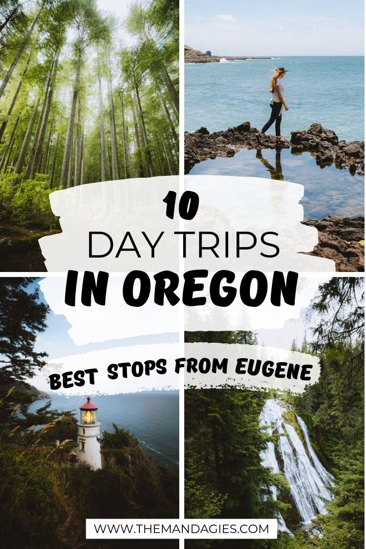 10 Incredible Day Trips From Eugene Oregon To Refresh Your Mind And Body The Mandagies Day Trips Oregon Travel Oregon Road Trip