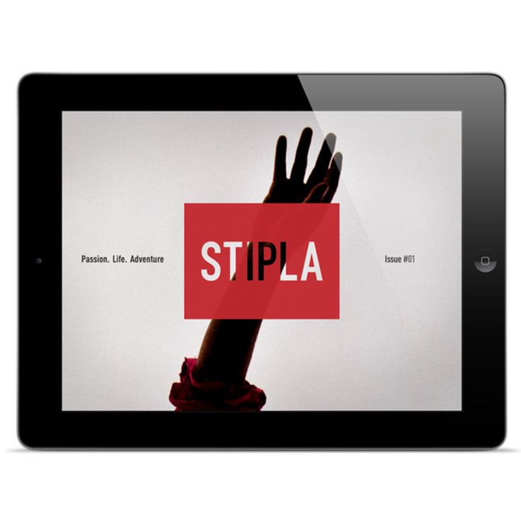 Stipla Magazine made using Origami Engine