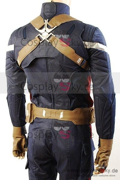 shoulder shield harness and back view of uniform | Captain ...