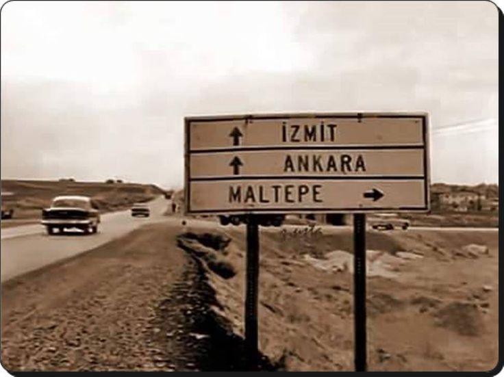 Maltepe - E5 Oto yolu - 1967 Paylaşım için Sn. Deran Bastug hanım