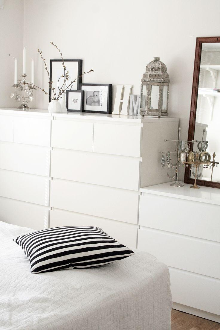 Bedroom | Malm | Home | White | Decoration | Love
