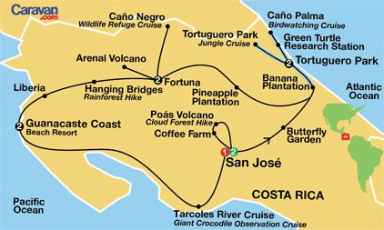 Brian and I are thinking of going on this escorted tour of Costa Rico next year for our 30th.