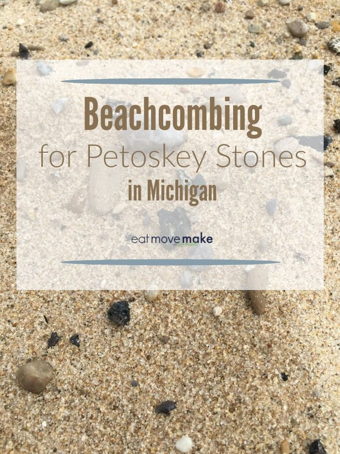 Beachcombing for Petoskey stones in Michigan is summertime fun and a treasure hunter's delight. Find out more about the ultimate Michigan souvenir! USA