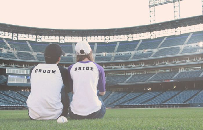 Oh my gosh! Doing this! Colorado Rockies Baseball Engagement at Coors Field