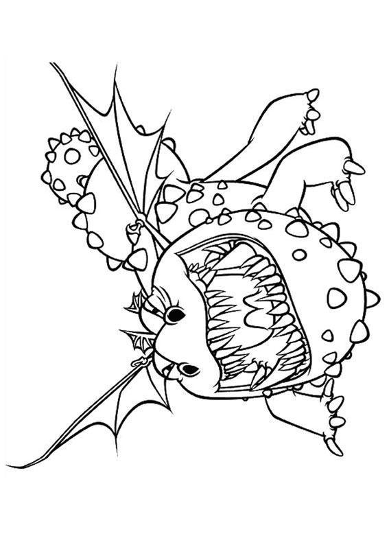 33 Disegni Di Dragon Trainer 1 E 2 Da Colorare For Evelyn Art