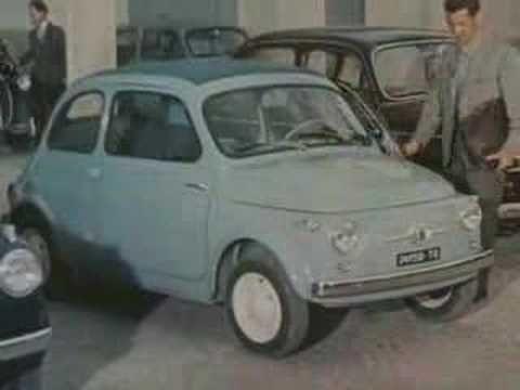 Spot Fiat 500 d'epoca - YouTube