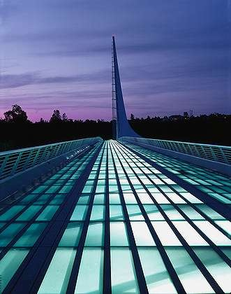 Sundial Bridge, Redding, California. Great place to stop when on I-5 before heading to the Mountains and Lassen Park