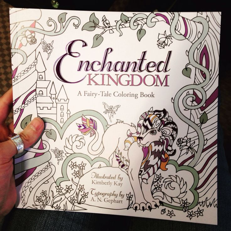 Enchanted Kingdom A Fairytale Coloring Book By Kimberly Kay And N Gephart EnchantedColoring