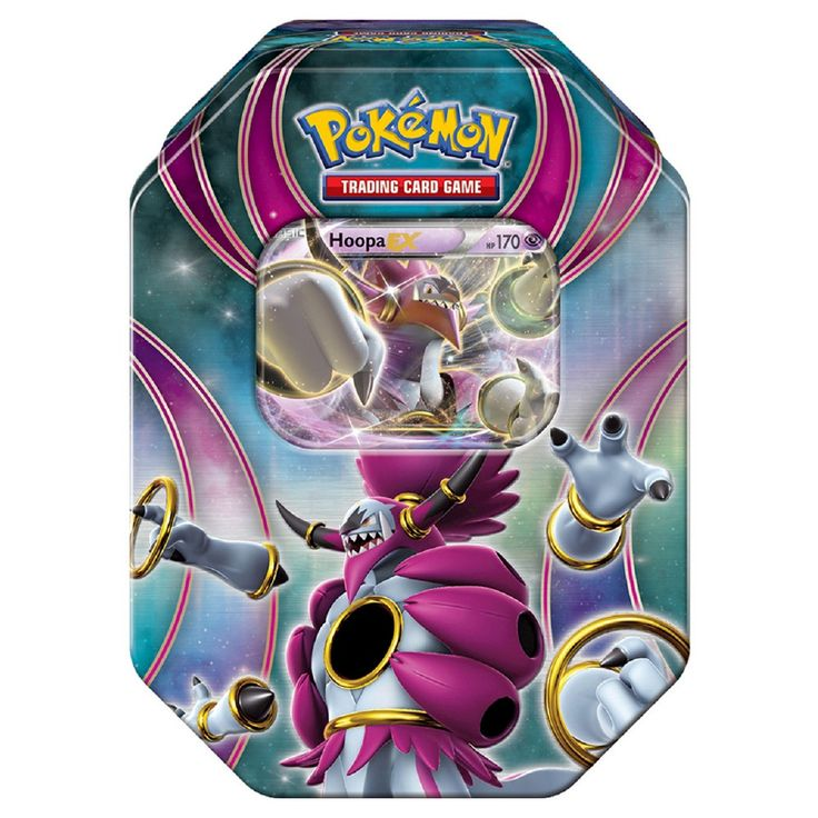 Pokemon Trading Card Game Powers Beyond Fall Tin Featuring Hoopa