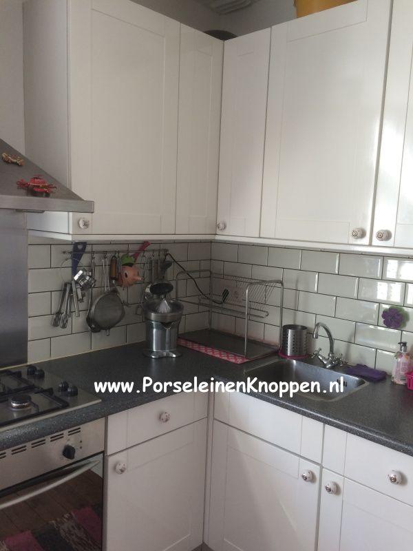 Keuken Deur Knopjes : Schattige Keuken met hartjes deurknopjes van PorseleinenKnoppen.nl