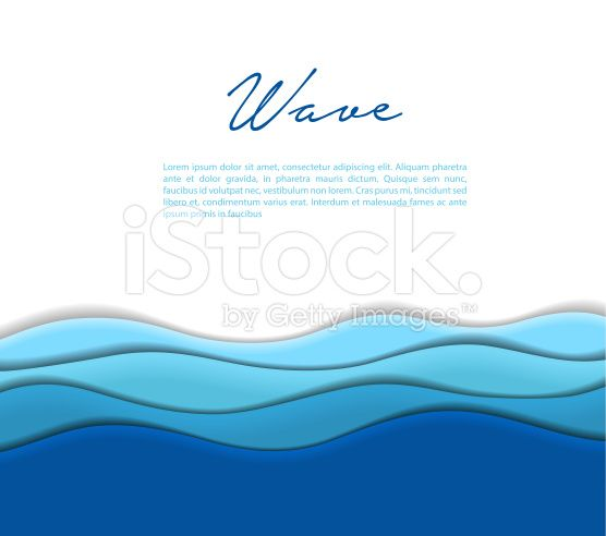 Abstract waves background royalty-free stock vector art