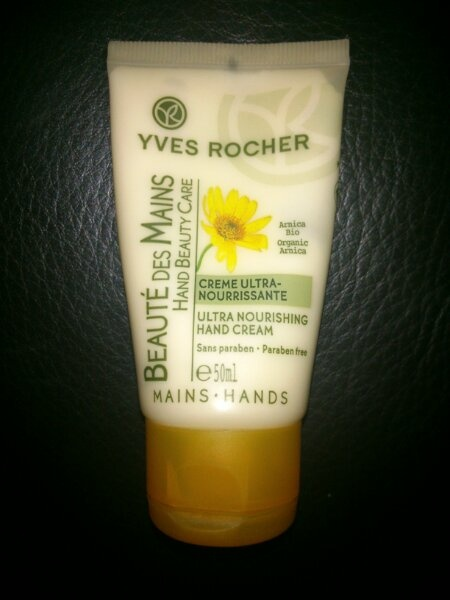 The Winner of the hand cream test! Beaute des Mains from Yves Rocher