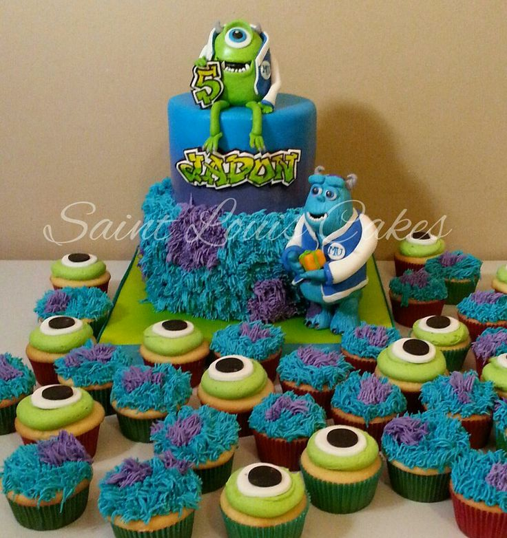 monster university birthdayMonster University Mike Wazowski Cake