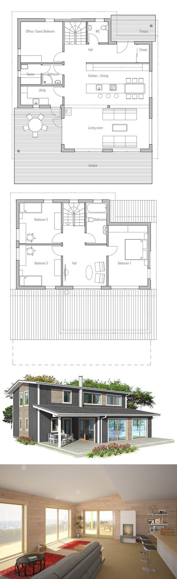 153 best arch resi plans images on pinterest architecture house plan small house new home