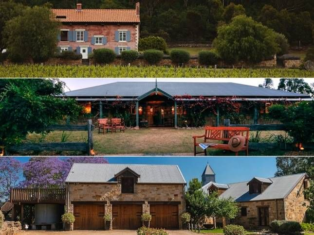Hunter Valley. 24 guests. Pool. Open fireplace. Walk to vineyards or Hunter Valley Gardens.