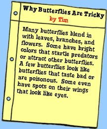 Butterfly and the Bog Beast lesson plan - from Magic School Bus