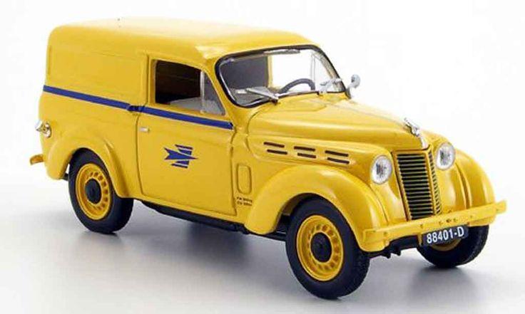 Renault 2101 Dauphinoise, La Poste, 1963, modèle réduit 1/43 © DR.