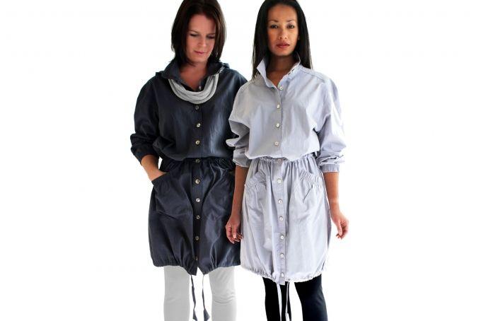 Long Parka Coat by WEISS design studio