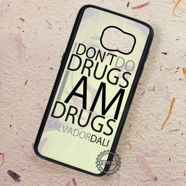 Quotes Salvador Dali - Samsung Galaxy S7 S6 S5 Note 7 Cases & Covers