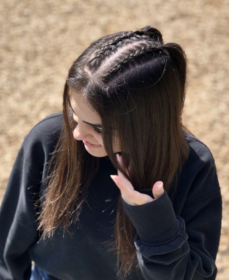 Rápido y fácil peinados pelo largo liso Imagen de cortes de pelo consejos - Armenian Braided Hairstyle | Peinados con trenzas pelo ...