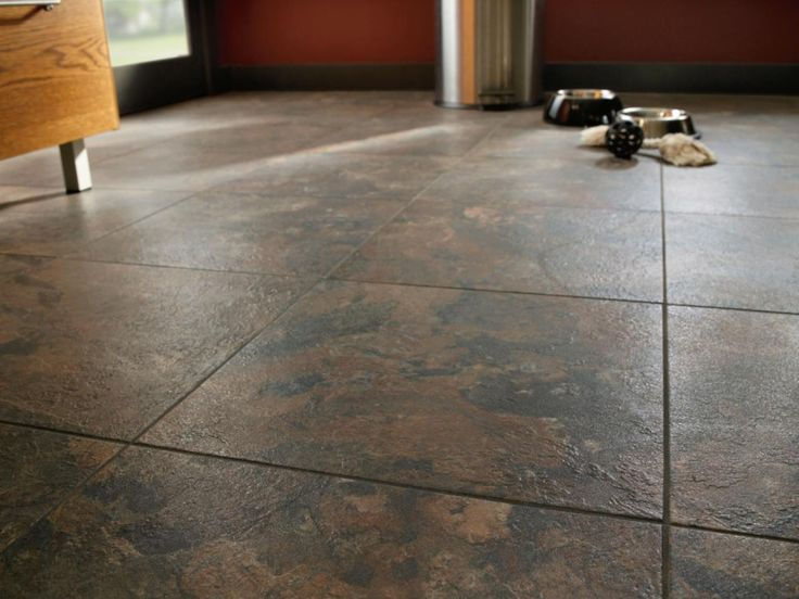 pin 9 linoleum floors can be made to look like stone in this case