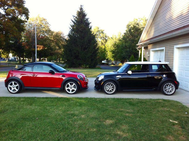 OUR mini FAMILY. 2012 mini COOPER COUPE AND mini COOPER